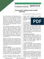 Samsung UK's plans for B2B domination