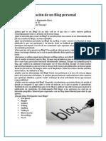 Creación de un Blog personal.pdf