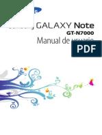 Galaxy Note - Manual Del Usuario
