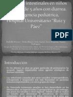 Coccidios intestinales en niños menores de 5 años
