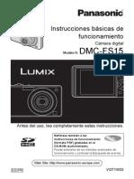 Manual Panasonic DMC-FS15