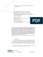 Michael F. Bird & Michael R. Whitenton NTS on Hippolytus
