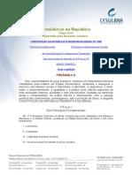 CF-88 - DOS CRIMES DE TRÂNSITO