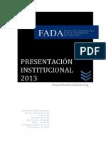 carpeta institucional