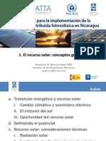 Sesión 1 El Recurso solar