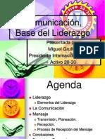 La comunicacion como base del Liderazgo - Concilio.ppt