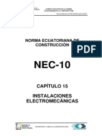 NEC2011-CAP.15 INSTALACIONES ELECTROMECÁNICAS-021412