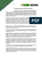 Guia Ambiental - DEFINICIÓN E IDENTIFICACIÓN DEL ÁREA DE INFLUENCIA