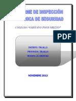 INFORME DE INSPECCIÓN TECNICA DE SEGURIDAD