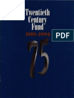 TCF's 75th Anniversary Publication