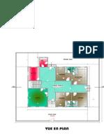 plan Villa à Mbacké Plan modifié