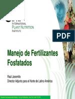 Manejo de Fertilizantes Fosfatados