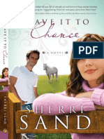 Leave It To Chance by Sherri Sand - Chapter 1