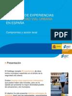 Presentacion Catalogo de Experiencias S Vial Urbana