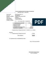 Liquidacion de Cts Maria Sanchez