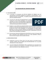 MOD Informe de la Liquidación de Contrato