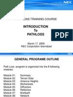Pathloss Training NEC.ppt