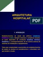 Aula IME_Arquitetura Hospitalar