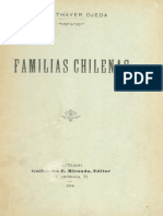 Familias Chilenas Thayer Ojeda