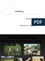 agriculture marketing issues and challanges