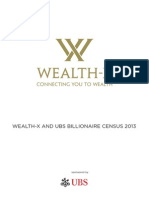 Wealth-X/UBS Billionaire Census 2013
