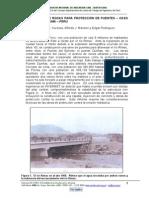 Uso de Rampa Rocas Proteccion Puentes