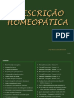 Prescrição Homeopatica