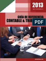 Guia de Referencia Contable y Tributaria 2013