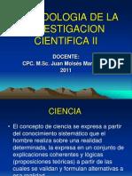 Metodologia de La Investigacion en Cs.cs. II- Una