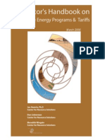 Handbook on Renewable Energy Programs & Tariffs.pdf