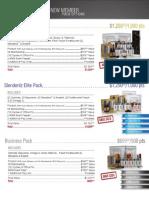 ARIIX Enrollment Packs