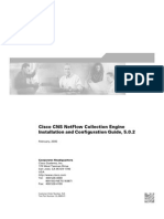Cisco CNS NetFlow Collection Engine Install + Xonfig Guide 5.0.2