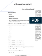 Números proporcionais, Porcentagem, Funções