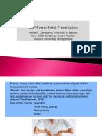 ebp power point presentation