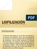 expo de LIOFILIZACIÓN