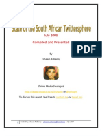 State of the SA Twitter Sphere July 2009