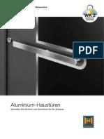 Aluminium Haustueren