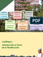 Planificación y diseño de proyectos para agencias agrarias