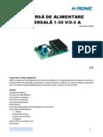 116661-An-01-Ro-Kit Sursa Alimentare Universala 1 30V
