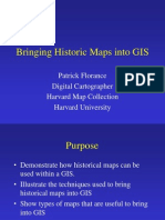 Bringing Historic Maps Into GIS Small