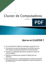 3- Clusters de Computadoras