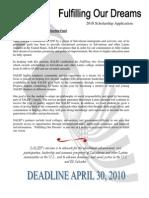 SALEF SCHOLARSHIP APPLICATION 2010.pdf