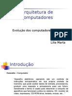 Aula SIS - Evolução de computadores
