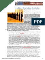 (97) Católicos y política –III. principios doctrinales