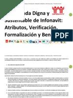Manual Vivienda Digna y Sustentable INFONAVTI 2011