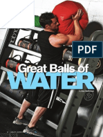 Hydroball training
