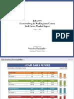July 2009 Harrisonburg & Rockingham County Real Estate Market Report