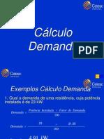 Exemplos Cálculo Demanda