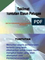 Taklimat Kewangan PMR 2012