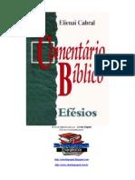 Elienai Cabral - Comentário Bíblico Efésios.doc